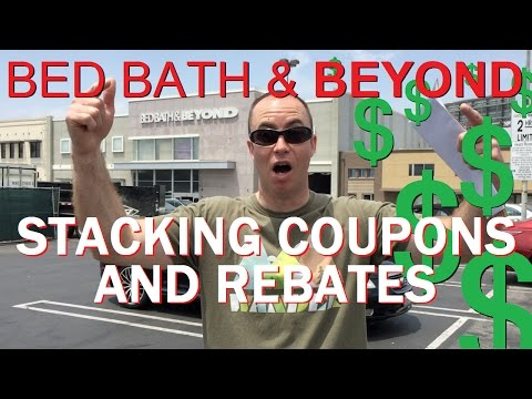 Bed Bath & Beyond Stacking Coupons and Rebates For INSANE Savings!