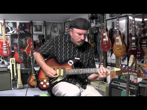 Givson G.S. 1000 Guitar Demo