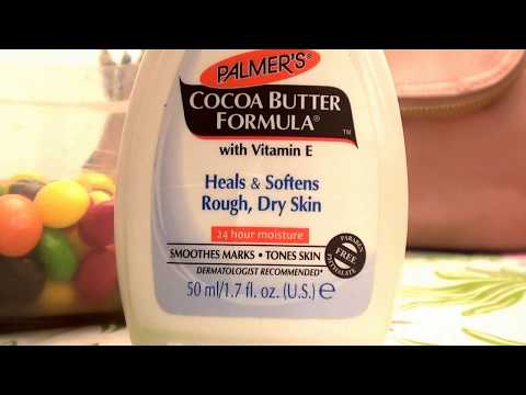 Palmer's Cocoa Butter Formula Body Lotion, stretch marks, tones skins, fades scars, soft skin