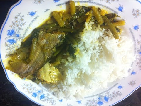 HOW TO COOK PABDA FISH WITH DENGHA CURRY