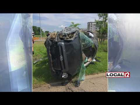 Police remind drivers to be safe during holiday weekend after rollover crash on I-71