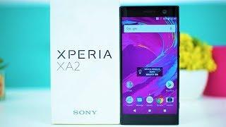 Unboxing Sony Xperia XA2 - Spek Lebih Mantap?