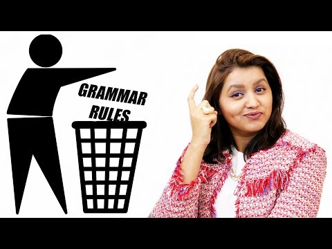 5 English Grammar Rules You Should Be Breaking