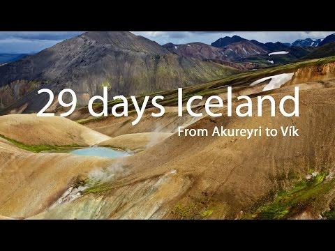 29 days Iceland - from Akureyri to Vík