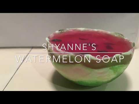 Watermelon Melt & Pour Soap Tutorial (20 Time Project)