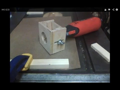 Make a Rotary Tool Router Base