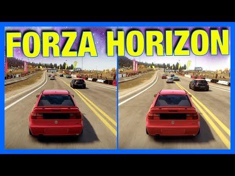 Forza Horizon 1 - Xbox 360 vs Xbox One!!