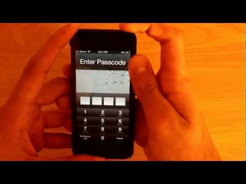 NEW How to Bypass / Get Past Any iPhone's Passcode on iOS 6.1.2!!!!