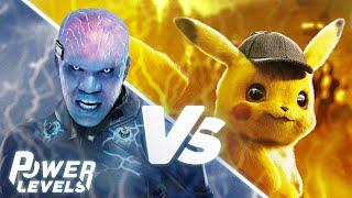 Pokemon's Pikachu vs Spider-Man's Electro | Power Levels