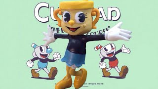 Cuphead: The Delicious Last Course, Ms. Chalice Polymer Clay Sculpture