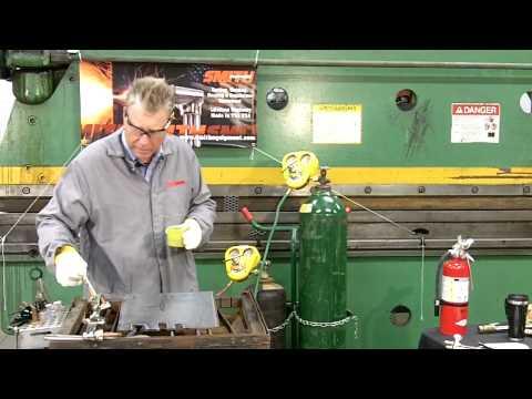 Acetylene & Oxygen Torch Cutting