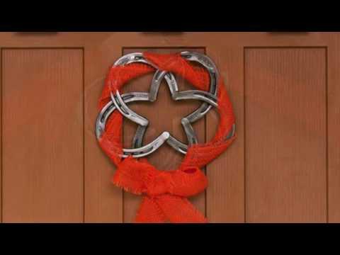 DIY Welded Horseshoe Wreath with Hobart Welding & Tractor Supply