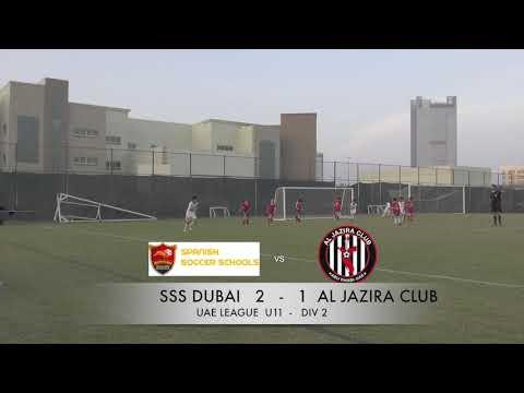 SSS DUBAI VS AL JAZIRA CLUB U 11