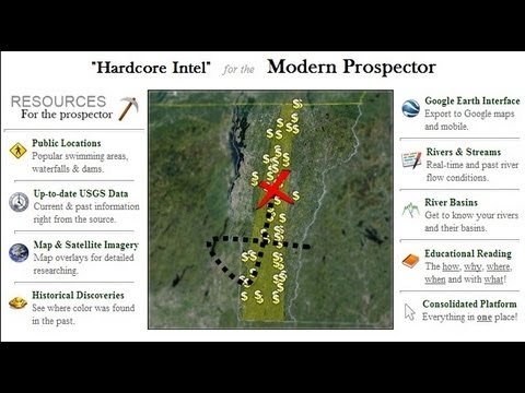 How to find gold.  The Ultimate prospecting tool.