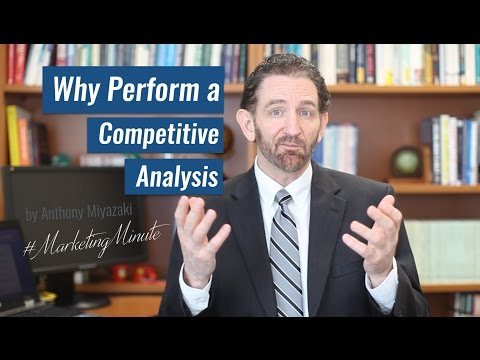 "Marketing Minute 032: ""Competitive Analysis"" (Marketing Strategy) #MarketingMinute"