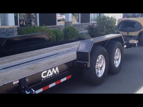 7-Ton 20' Full Tilt Gooseneck Trailer with winch and other options