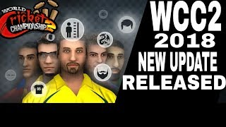 WCC2 2018 UPDATE RELEASED - Live Streaming by Learn easy
