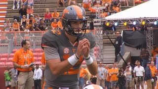 Quinten Dormady Shines in Tennessee Orange and White Game