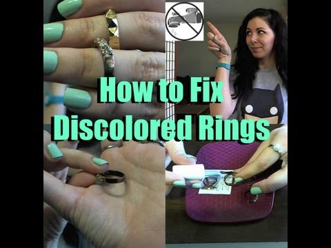 How to Fix Discolored Rings!