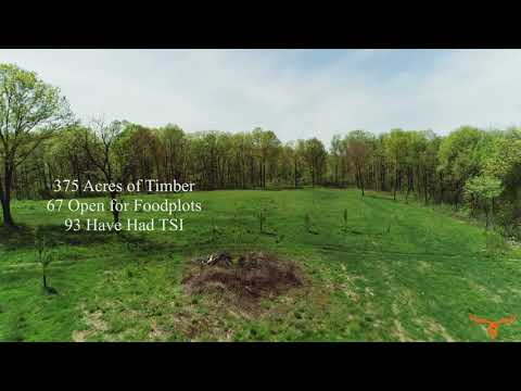 450 +/- Acre Hunting Recreational Paradise with Home Overlooking Small Lake for Sale