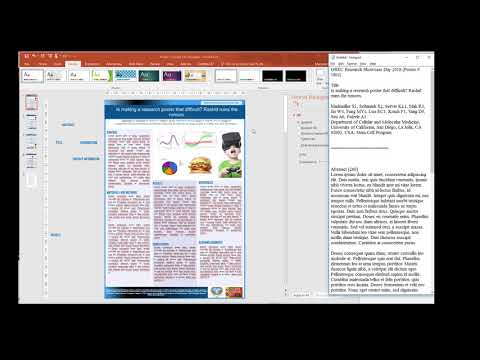 Power Point Template for Research Posters