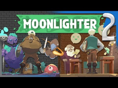 THE BLACKSMITH & FINDING THE MAGIC MIRROR! | Moonlighter Gameplay/Let's Play S2E2
