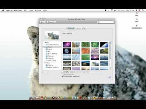 Mac OSX - Animated Background/Wallpaper