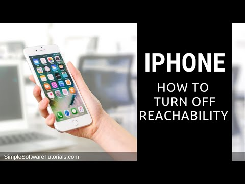 How to Turn Off Reachability on the iPhone