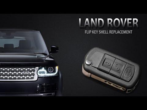 LAND ROVER Flip Key Change