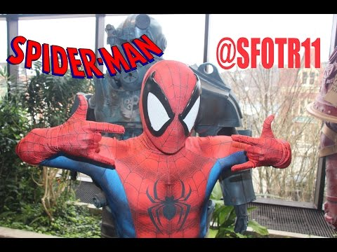 Spider-Man at SFOTR11