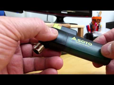 Soto Outdoors Pocket Torch PT-14SB First Glance