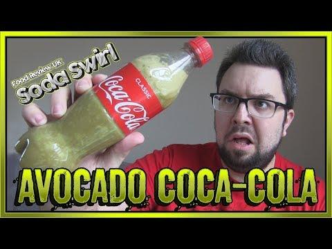 Avocado Coca-Cola Review | Soda Swirl