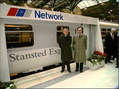 Stansted Express launch
