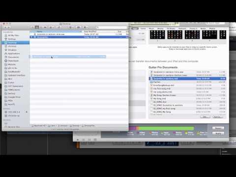 Guitar Chord Pro Midi and WAV file iTunes Export