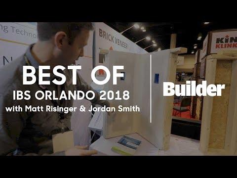 Best of the Intl Builders Show 2018