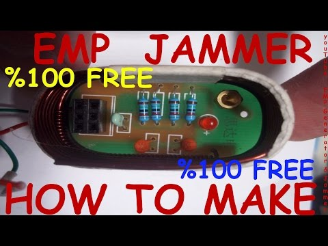 EMP Jammer generator 2017  How to make (PCB İnfo and materials) FREE