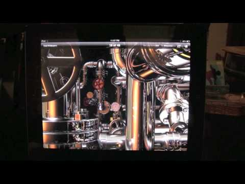 iPad: How to Make a Picture Your Background​​​ | H2TechVideos​​​