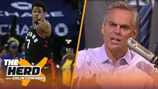 Colin Cowherd reacts to Warriors part-owner Mark Stevens' 1-year ban and $500k fine | NBA | THE HERD