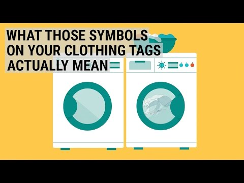 Here's what those symbols on your clothing tags actually mean