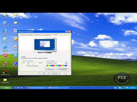 How To Check Your VGA in Windows Xp.