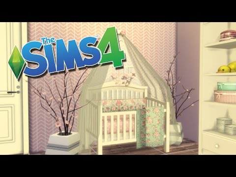 How to Get Functioning Cribs in the Sims 4 || CRIB MOD
