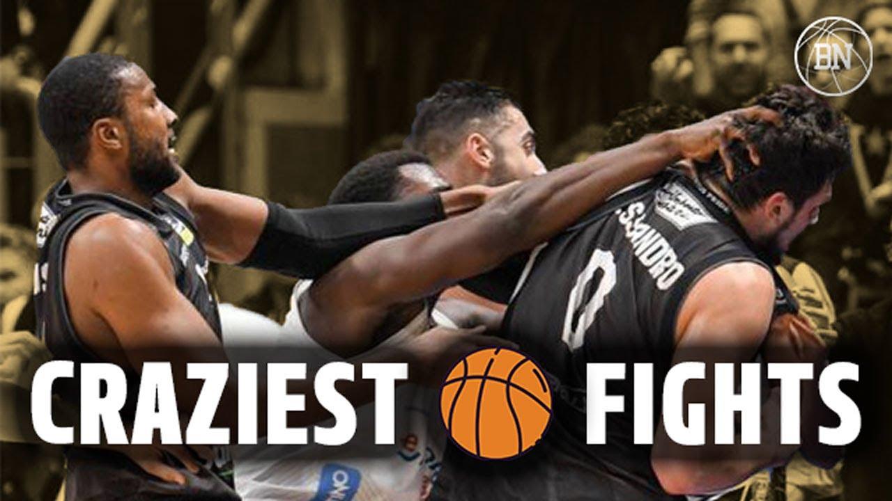 CRAZIEST BASKETBALL FIGHTS   International Edition