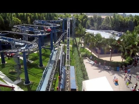 Technic Coaster front seat on-ride HD POV Legoland California