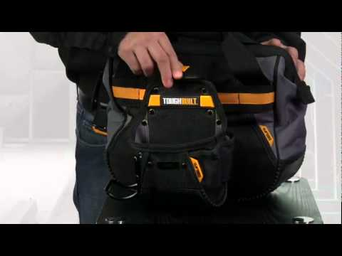 ToughBuilt Bag with ClipTech Pouch