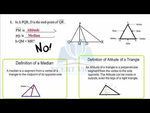 The Triangles and its Properties 6.1