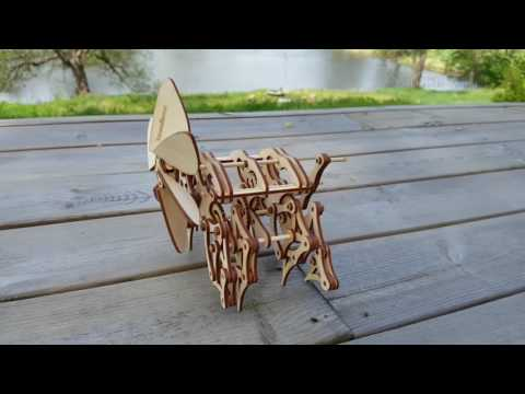 Induku Wooden Models - Strandbeest Walking
