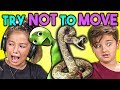 Kids React To TRY NOT TO MOVE Challenge 3