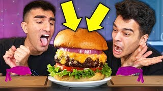 Try Not To Eat CHALLENGE! *24 HOUR IMPOSSIBLE NO FOOD CHALLENGE*