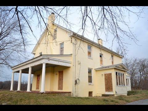 Abandoned Burlington Farmhouse - NJ