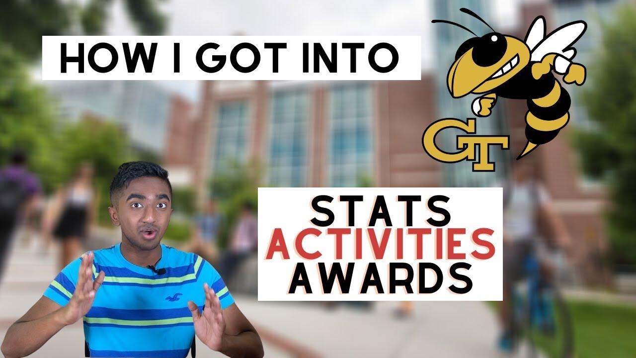 How I Got Into Georgia Tech | High School GPA, SAT, APs, Stats, Activities & Awards (College Advice)
